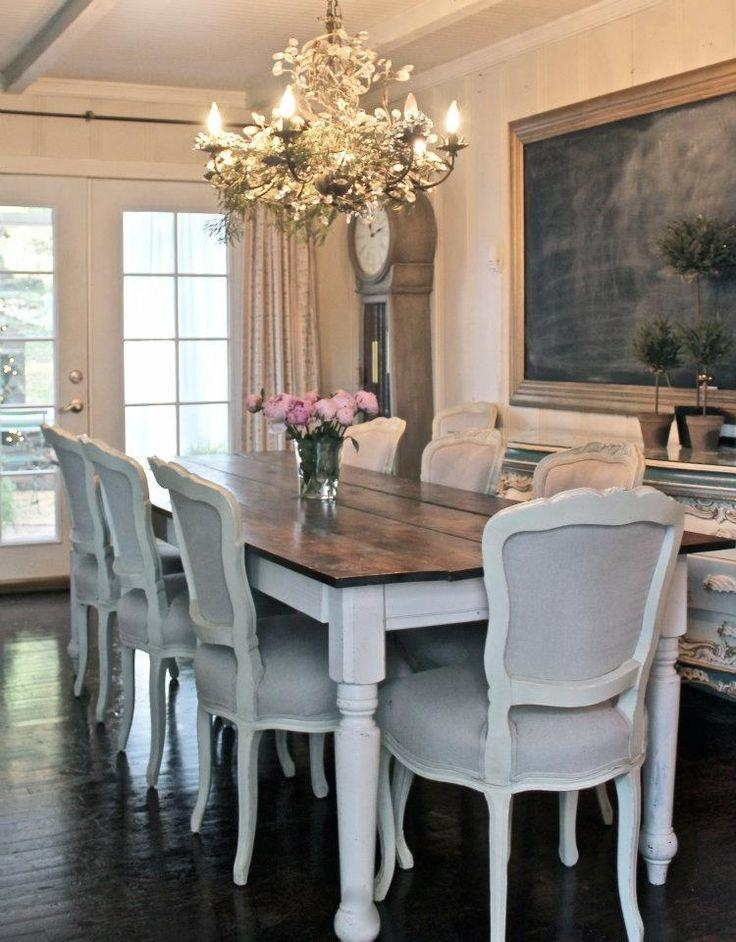 Best 25+ Paint Dining Tables Ideas On Pinterest | Distressed Pertaining To Shabby Dining Tables And Chairs (Image 9 of 20)