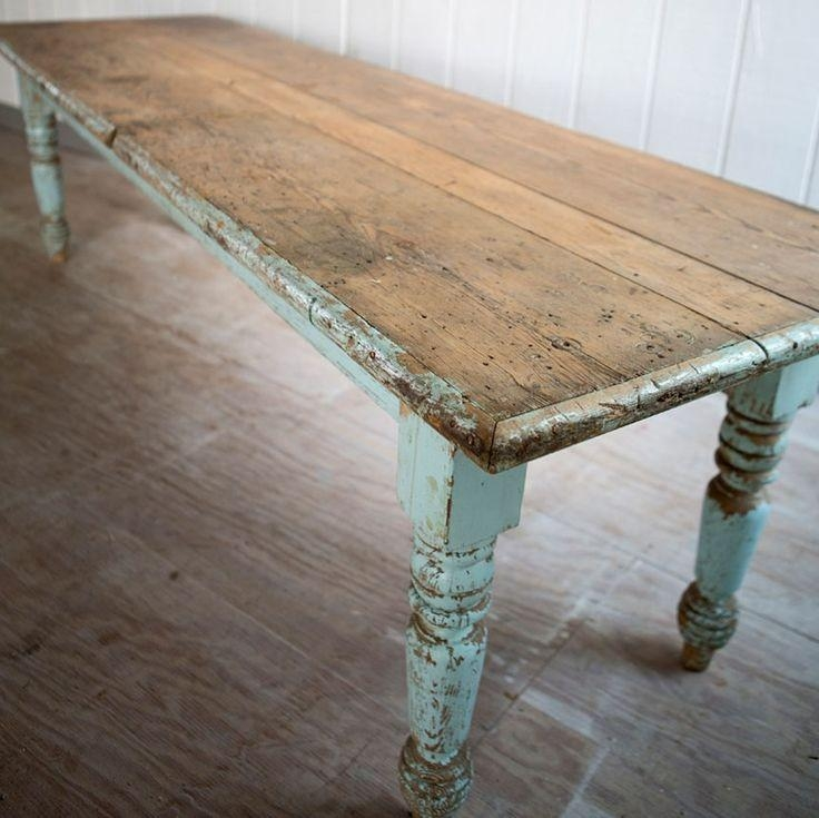 Best 25+ Paint Dining Tables Ideas On Pinterest | Distressed Regarding Big Dining Tables For Sale (Image 8 of 20)