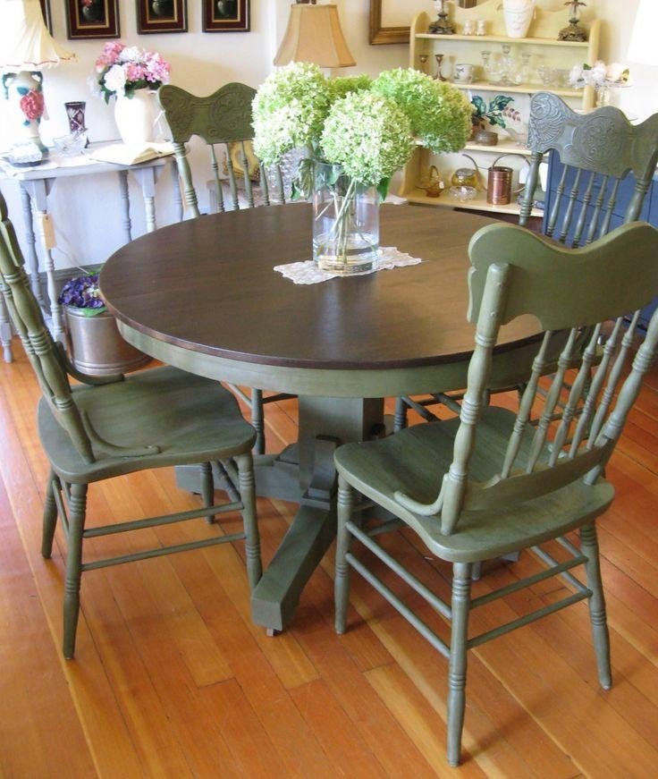 Best 25+ Painting Kitchen Chairs Ideas On Pinterest | Paint A Intended For Ivory Painted Dining Tables (View 12 of 20)
