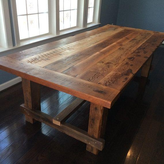 Best 25+ Reclaimed Dining Table Ideas On Pinterest | Wood Dining With Barn House Dining Tables (View 12 of 20)