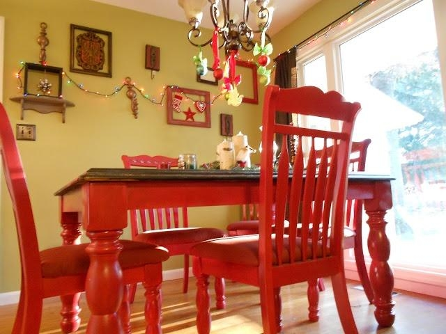 Best 25+ Red Kitchen Tables Ideas Only On Pinterest | Paint Wood For Red Dining Tables And Chairs (Image 5 of 20)