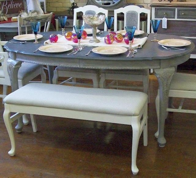 Best 25+ Repainted Table Ideas On Pinterest | Refurbished Dining In Ivory Painted Dining Tables (Image 15 of 20)