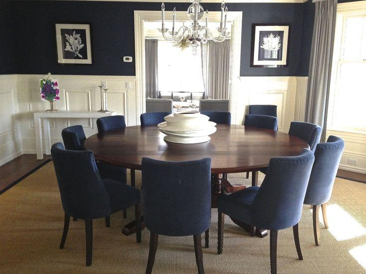 Best 25+ Round Dining Room Tables Ideas On Pinterest | Round Intended For Huge Round Dining Tables (View 9 of 20)