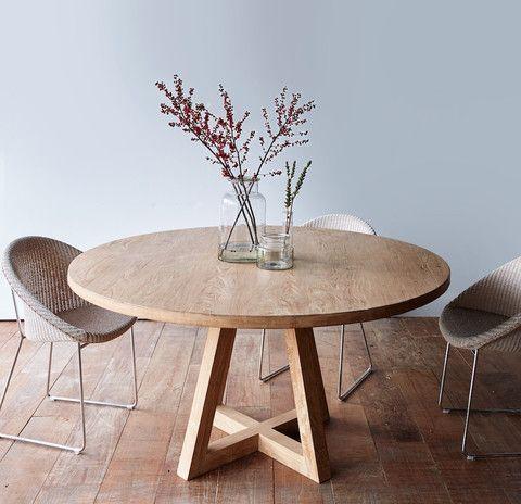 Best 25+ Round Dinning Table Ideas On Pinterest | Round Dining Intended For Circular Dining Tables (View 11 of 20)
