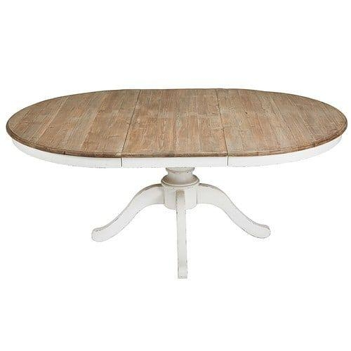 Best 25+ Round Extendable Dining Table Ideas On Pinterest | Round Pertaining To Extendable Round Dining Tables (View 5 of 20)