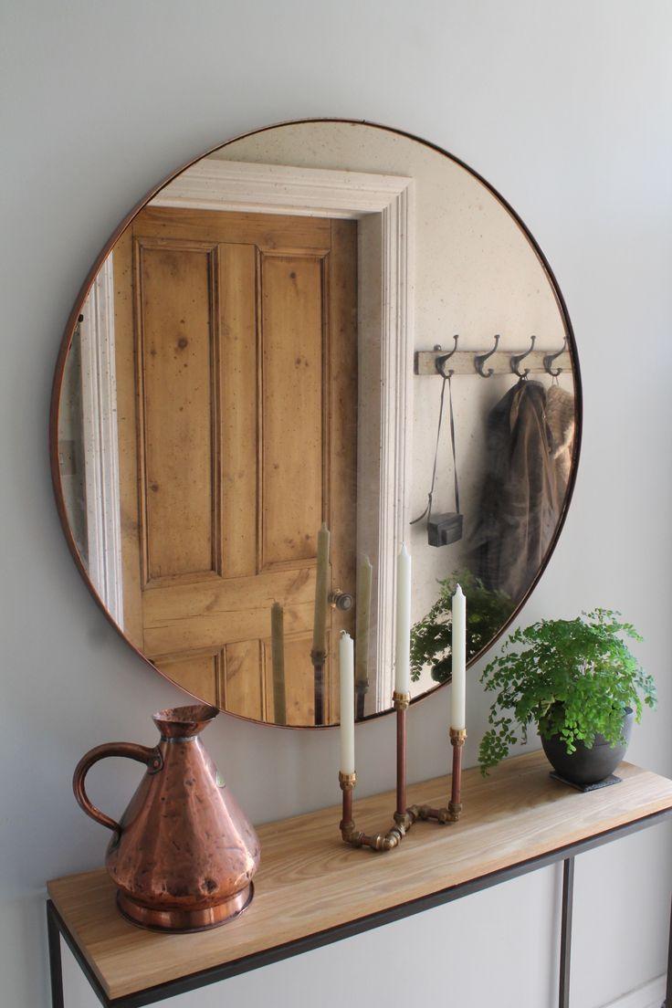 Best 25+ Round Wall Mirror Ideas On Pinterest | Large Round Wall Pertaining To Large Bubble Mirror (Image 4 of 20)