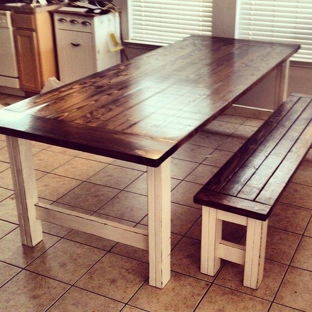 Best 25+ Rustic Dining Tables Ideas On Pinterest | Rustic Dining Intended For Rustic Dining Tables (Image 6 of 20)