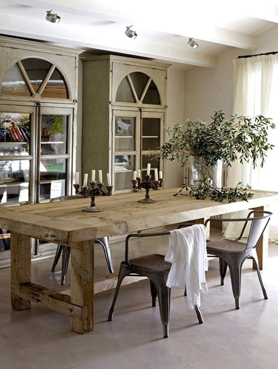 Best 25+ Rustic Dining Tables Ideas On Pinterest | Rustic Dining Pertaining To Rustic Dining Tables (View 3 of 20)