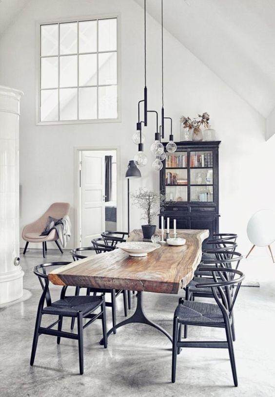 Best 25+ Scandinavian Dining Rooms Ideas On Pinterest | Bright Throughout Scandinavian Dining Tables And Chairs (View 18 of 20)