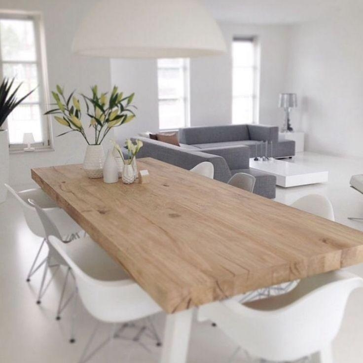 Best 25+ Scandinavian Dining Table Ideas On Pinterest Pertaining To Scandinavian Dining Tables And Chairs (View 4 of 20)