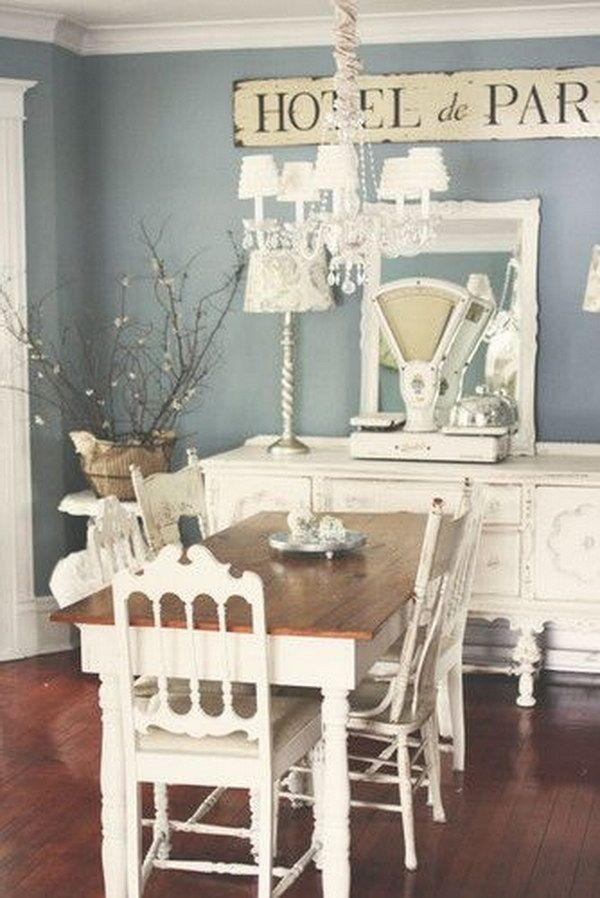 Best 25+ Shabby Chic Dining Room Ideas On Pinterest | Shabby Chic For Shabby Chic Cream Dining Tables And Chairs (Image 12 of 20)