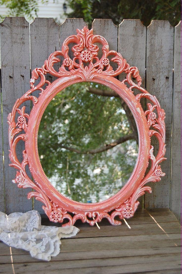 Best 25+ Shabby Chic Mirror Ideas On Pinterest | Shaby Chic For White Distressed Mirror Shabby Chic (View 8 of 20)