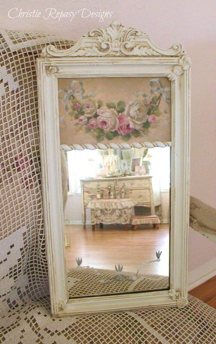 Best 25+ Shabby Chic Mirror Ideas On Pinterest | Shaby Chic Pertaining To Cream Shabby Chic Mirror (Image 6 of 20)