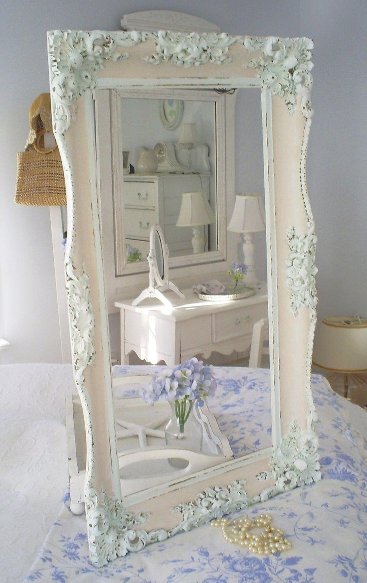 Best 25+ Shabby Chic Mirror Ideas On Pinterest | Shaby Chic Regarding White Antique Mirrors (View 10 of 20)