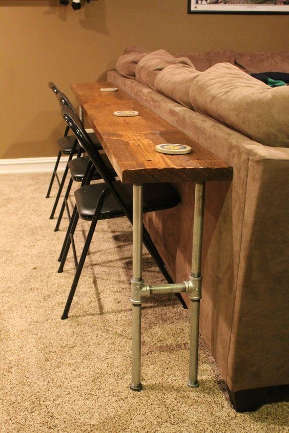 Best 25+ Sofa Bar Ideas Only On Pinterest | Außenkonsolentisch In Counter Height Sofa Tables (View 12 of 20)