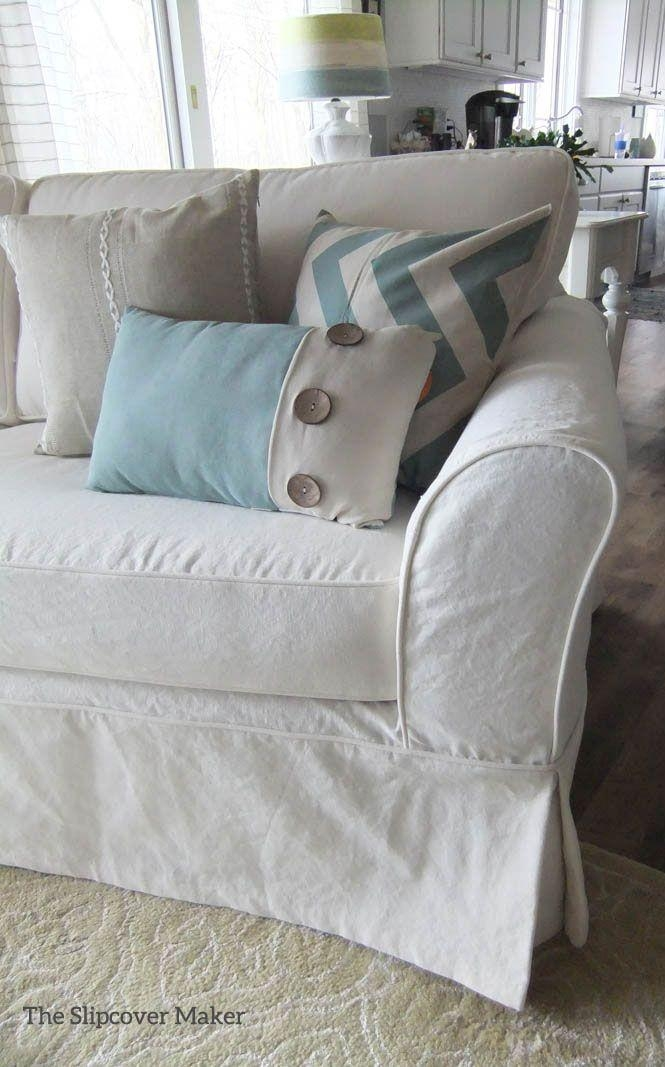 Best 25+ Sofa Slipcovers Ideas On Pinterest | Slipcovers, Chair Inside Canvas Slipcover Sofas (Image 3 of 20)