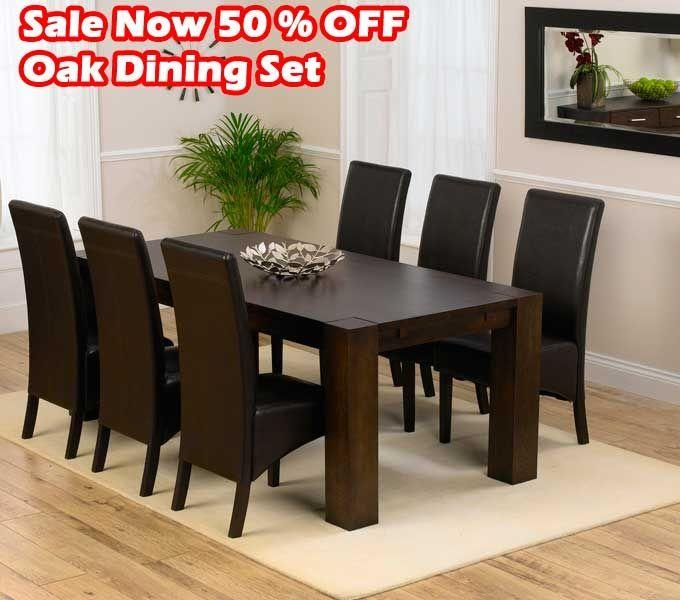 Best 25+ Solid Oak Dining Table Ideas On Pinterest | Oak Dining For Big Dining Tables For Sale (Image 11 of 20)