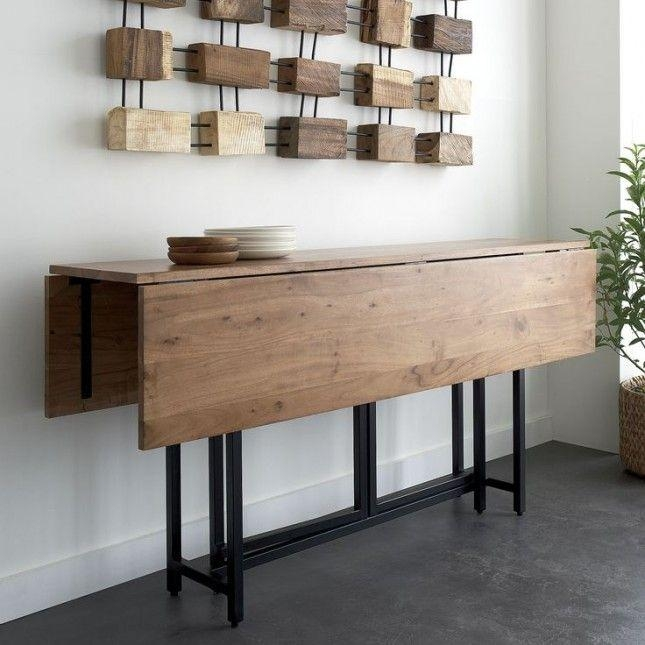 Best 25+ Space Saving Dining Table Ideas On Pinterest | Space For Dining Tables With Fold Away Chairs (View 7 of 20)
