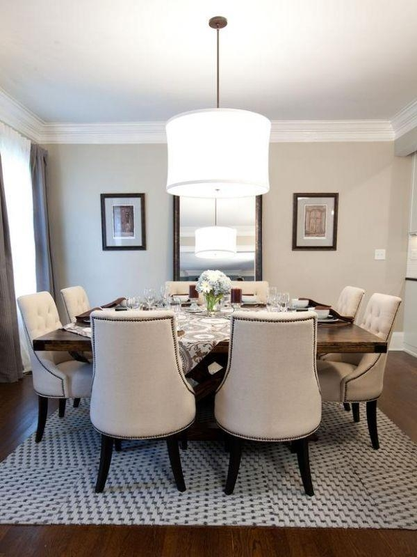 Best 25+ Square Dining Tables Ideas On Pinterest | Custom Dining With 8 Seater Dining Table Sets (Image 6 of 20)