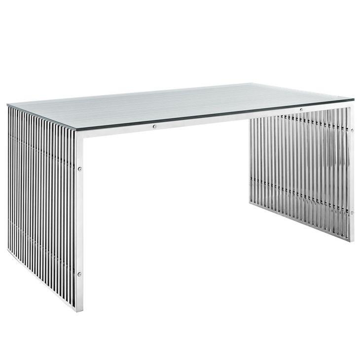 Best 25+ Stainless Steel Dining Table Ideas On Pinterest For Glass And Stainless Steel Dining Tables (Image 4 of 20)