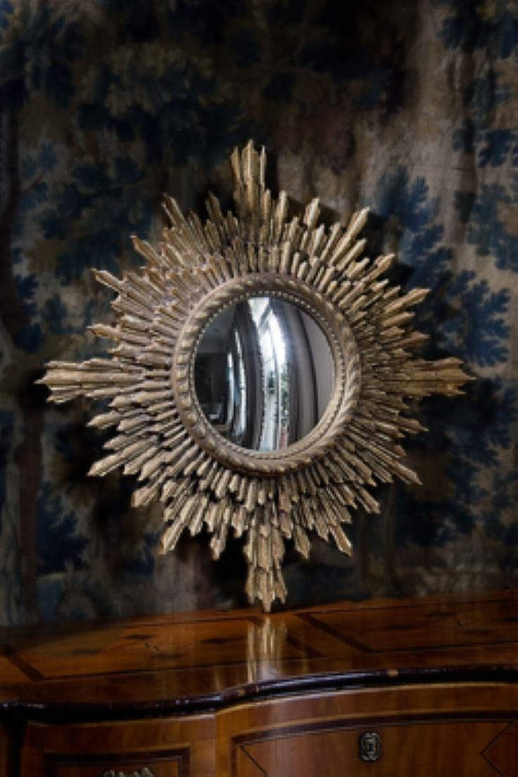 Best 25+ Sunburst Mirror Ideas Only On Pinterest | Gold Sunburst Pertaining To Starburst Convex Mirror (Image 3 of 20)