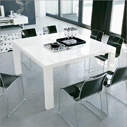 Best 25+ Table Carrée 8 Personnes Ideas On Pinterest | Table Within White 8 Seater Dining Tables (Image 10 of 20)