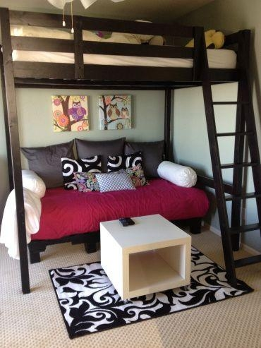 Best 25+ Teen Bunk Beds Ideas On Pinterest | Girls Bedroom With Throughout Bunk Bed With Sofas Underneath (Image 9 of 20)