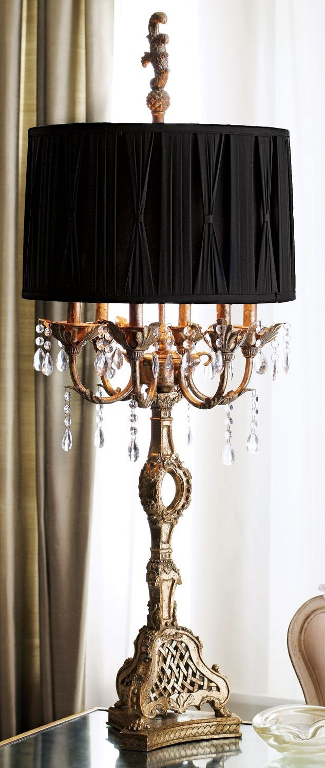 Best 25 Traditional Lamp Shades Ideas On Pinterest Gray Bedroom In Black Chandeliers With Shades (Image 4 of 25)
