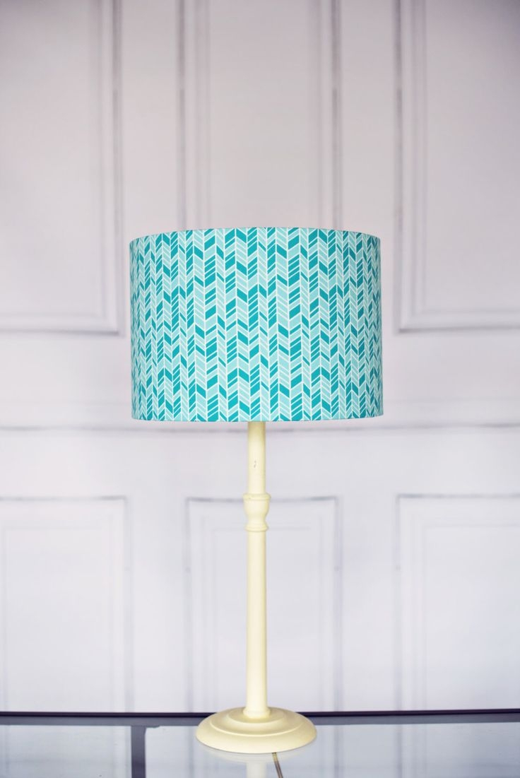 Best 25 Turquoise Lamp Shade Ideas On Pinterest Ribbon Lamp With Regard To Turquoise Chandelier Lamp Shades (Image 9 of 25)