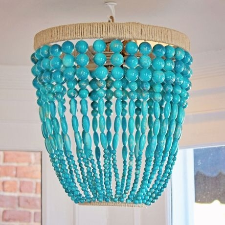 Best 25 Turquoise Teen Bedroom Ideas On Pinterest Turquoise Within Turquoise Bedroom Chandeliers (View 24 of 25)