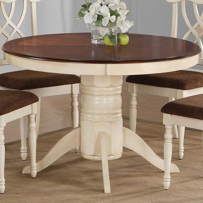 Best 25+ Two Tone Table Ideas Only On Pinterest | Refinished Table Regarding Two Chair Dining Tables (View 14 of 20)