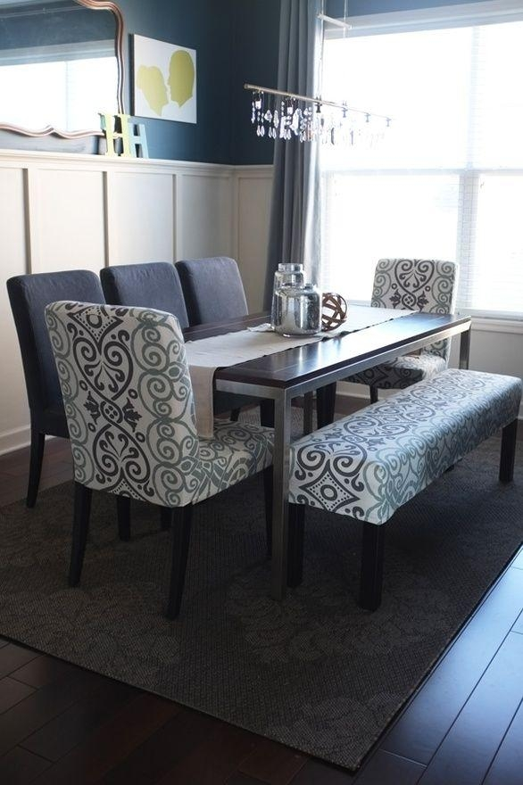 Best 25+ Upholstered Dining Bench Ideas On Pinterest | Dining Intended For Dining Room Bench Sofas (Image 6 of 20)