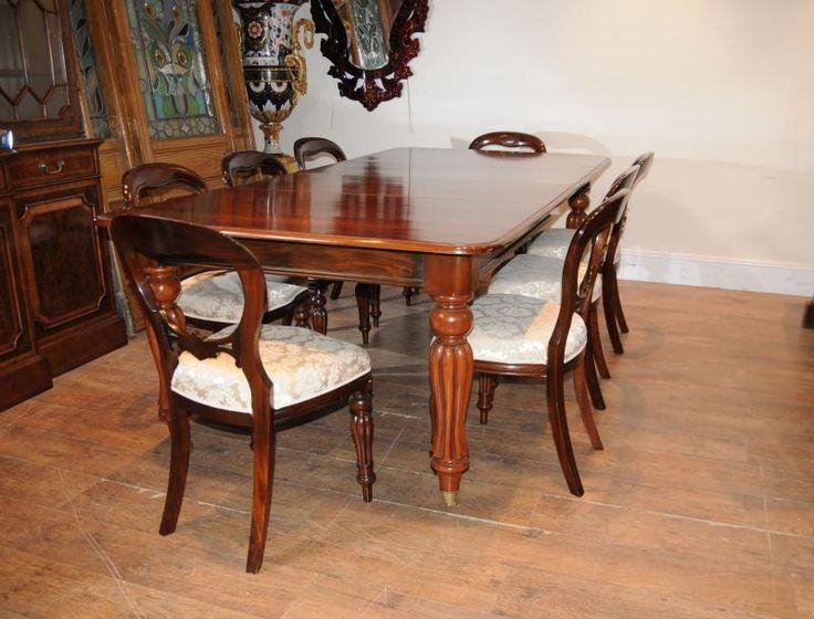 Best 25+ Victorian Dining Tables Ideas On Pinterest | Victorian Regarding Mahogany Dining Table Sets (Image 2 of 20)