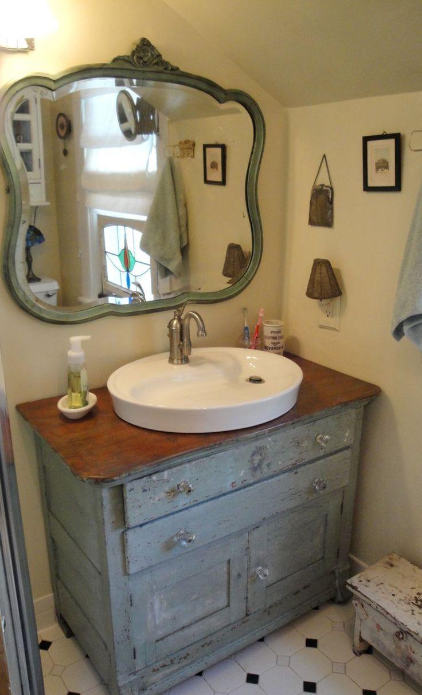 Best 25+ Vintage Bathroom Vanities Ideas On Pinterest | Singer Throughout Retro Bathroom Mirror (Image 13 of 20)