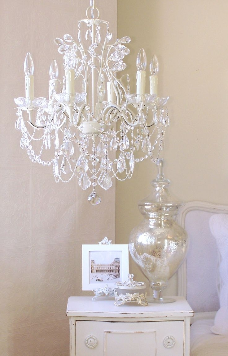 Best 25 Vintage Chandelier Ideas On Pinterest Rustic Light Inside White And Crystal Chandeliers (Image 5 of 25)