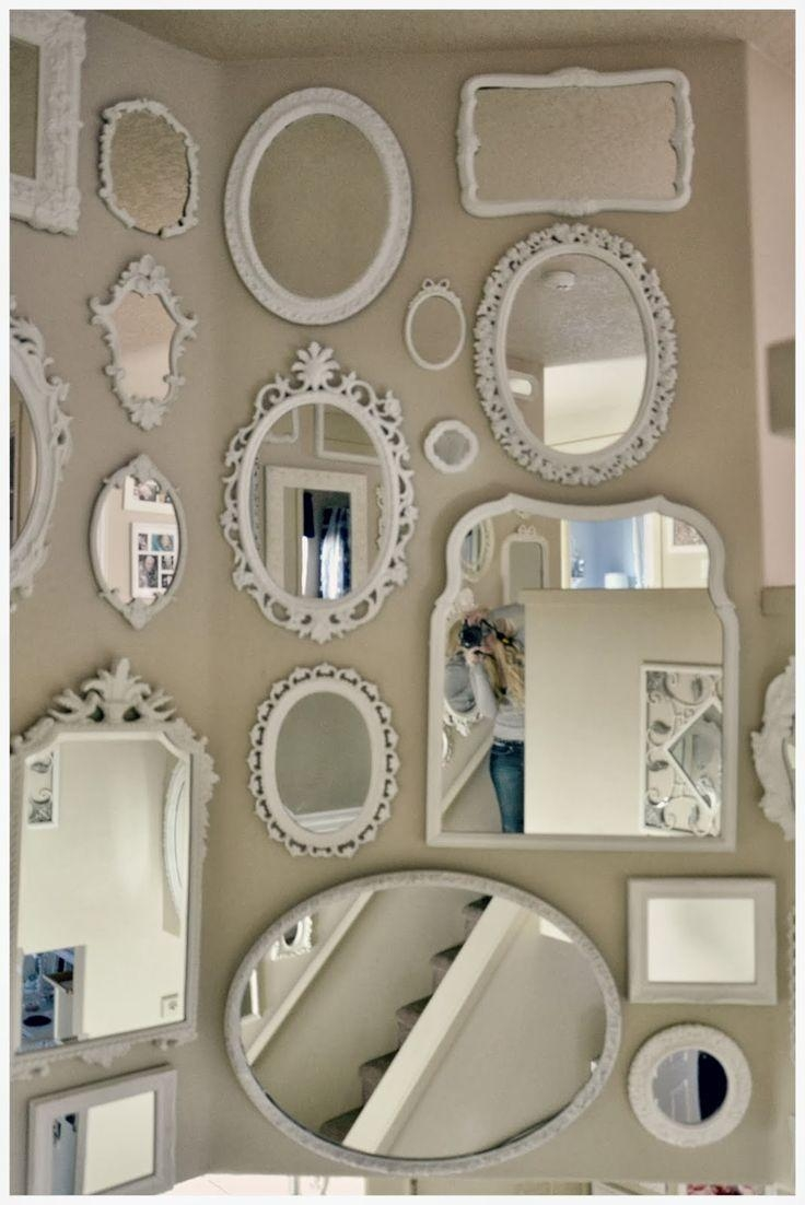 Best 25+ Wall Of Mirrors Ideas On Pinterest | Mirror Gallery Wall Regarding Retro Wall Mirrors (Image 9 of 20)