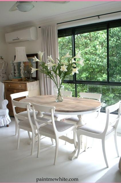 Best 25+ White Dining Table Ideas On Pinterest | White Dining Room Within Small White Dining Tables (Image 5 of 20)
