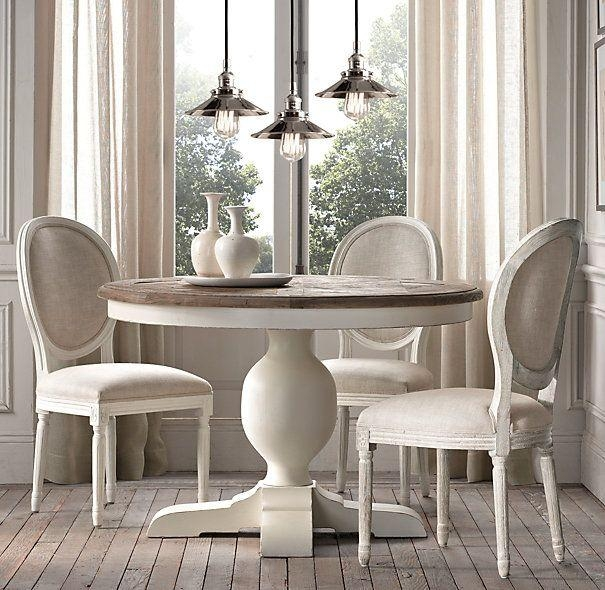 Best 25+ White Round Dining Table Ideas Only On Pinterest | Round Inside White Circular Dining Tables (Image 4 of 20)