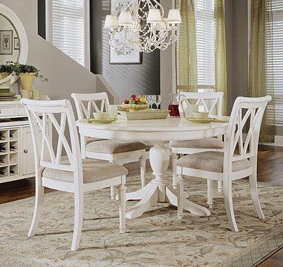 Best 25+ White Round Tables Ideas On Pinterest | Round Dinning Within White Circular Dining Tables (Image 5 of 20)