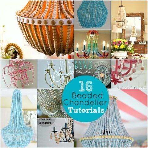 Best 25 Wood Bead Chandelier Ideas On Pinterest Bead Chandelier Throughout DIY Turquoise Beaded Chandeliers (Image 19 of 25)
