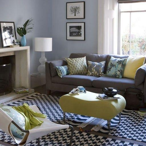 Best 25+ Yellow Living Rooms Ideas Only On Pinterest | Yellow With Blue Gray Sofas (Image 9 of 20)