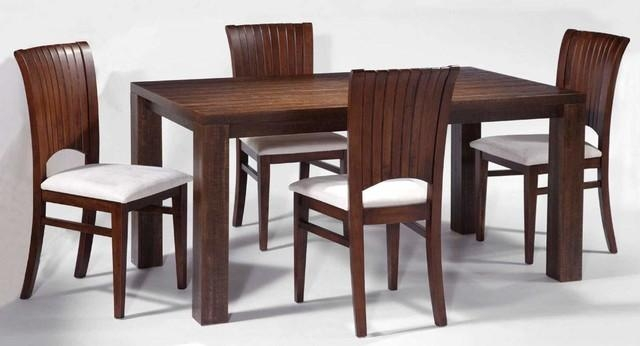 Best Chairs For Dining Table With Dining Room Real Wood Dining In Dining Table Sets (View 17 of 20)