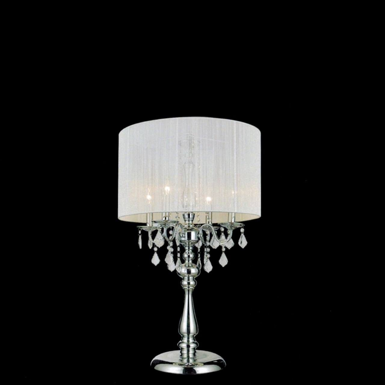 Best Chandelier Lamp Shades For Chandeliers With Lamp Shades (Image 5 of 25)