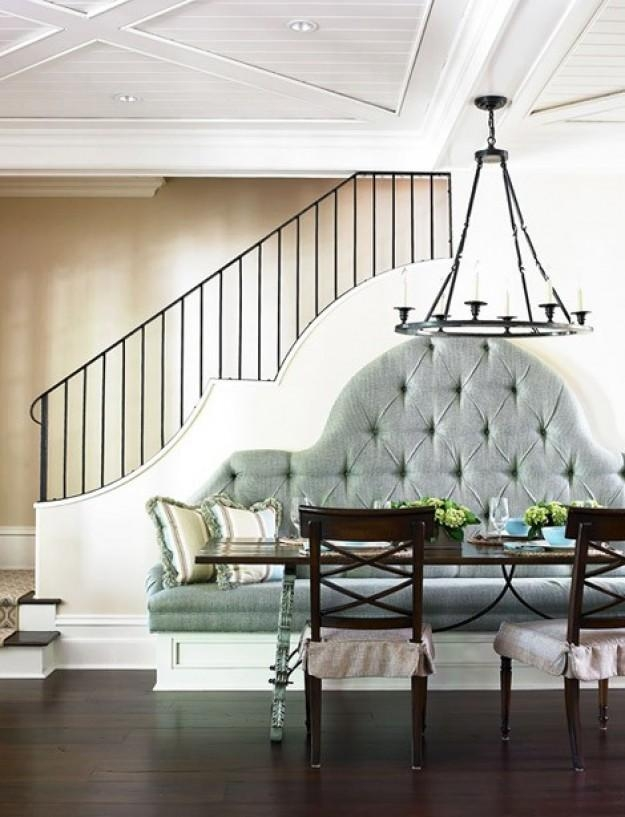 Best Dining Room With Bench Seating Images – Room Design Ideas Regarding Dining Room Bench Sofas (Image 7 of 20)