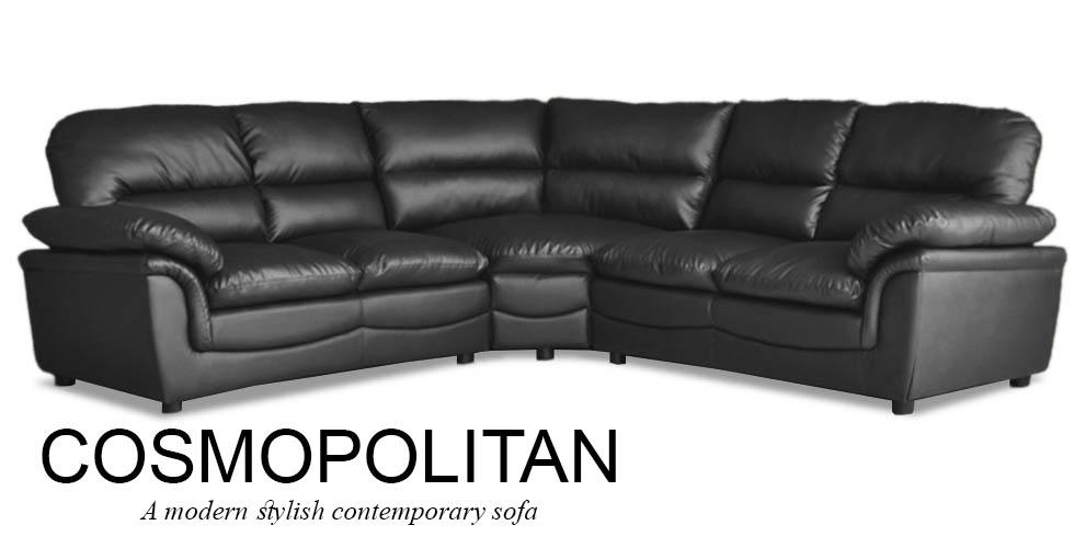 Best Leather Corner Sofa Modular Leather Corner Sofa Leather In Black Leather Corner Sofas (Image 4 of 20)
