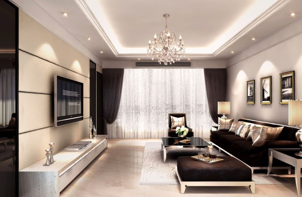 Best Living Room Wall Lights With Living Room Living Room Lights With Chandelier Lights For Living Room (Image 2 of 25)