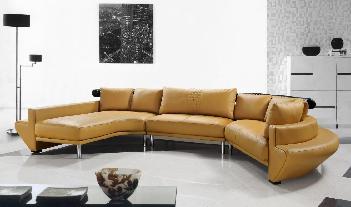 Best Modern Sectional Sofa Throughout Leather Modern Sectional Sofas (View 11 of 20)
