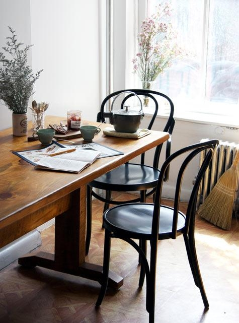 Best Of: Dining Rooms (Square Tables) – Design*sponge With Regard To New York Dining Tables (Image 2 of 20)