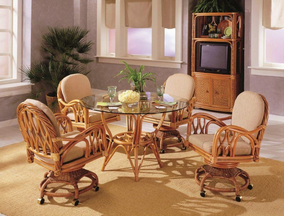 Best Rattan Dining Room Set Images – Room Design Ideas Inside Rattan Dining Tables And Chairs (Image 5 of 20)