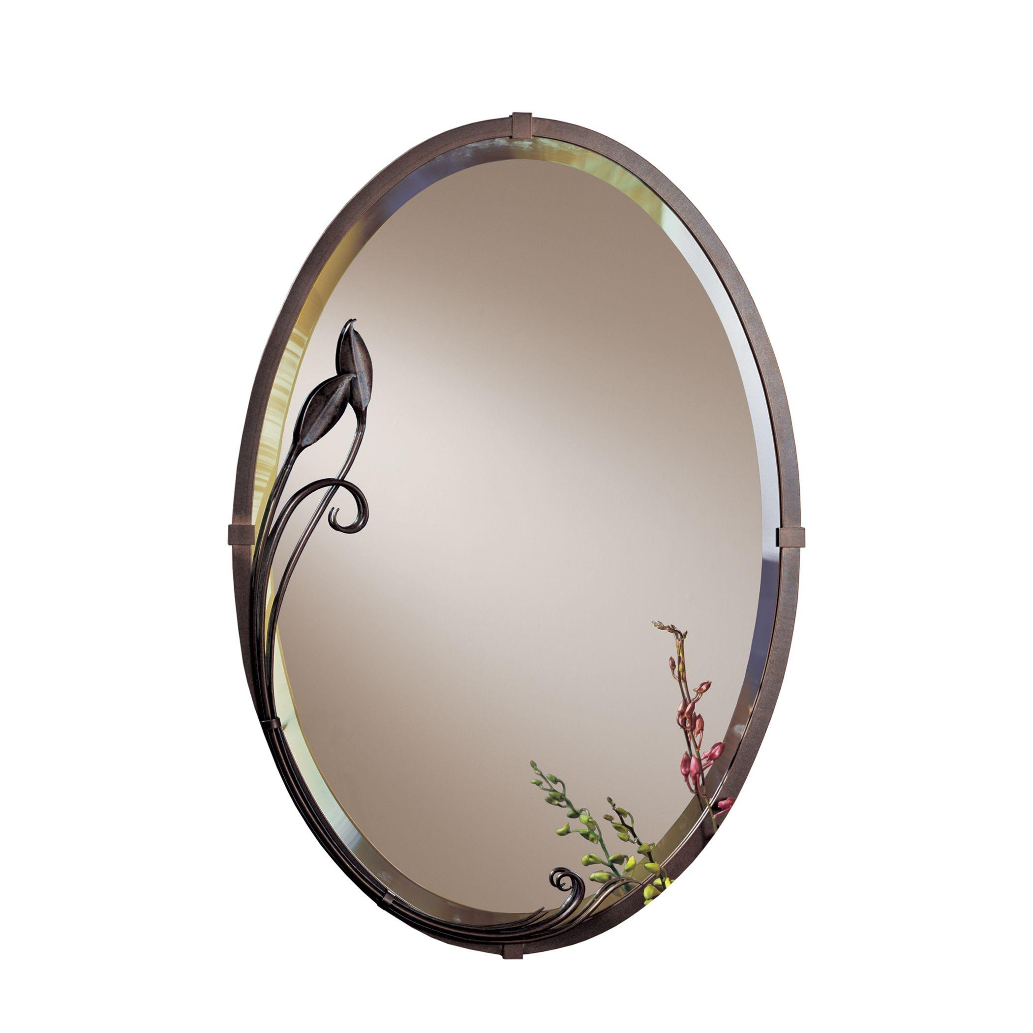 Beveled Oval Mirror – Hubbardton Forge For Bevelled Oval Mirror (Image 3 of 20)